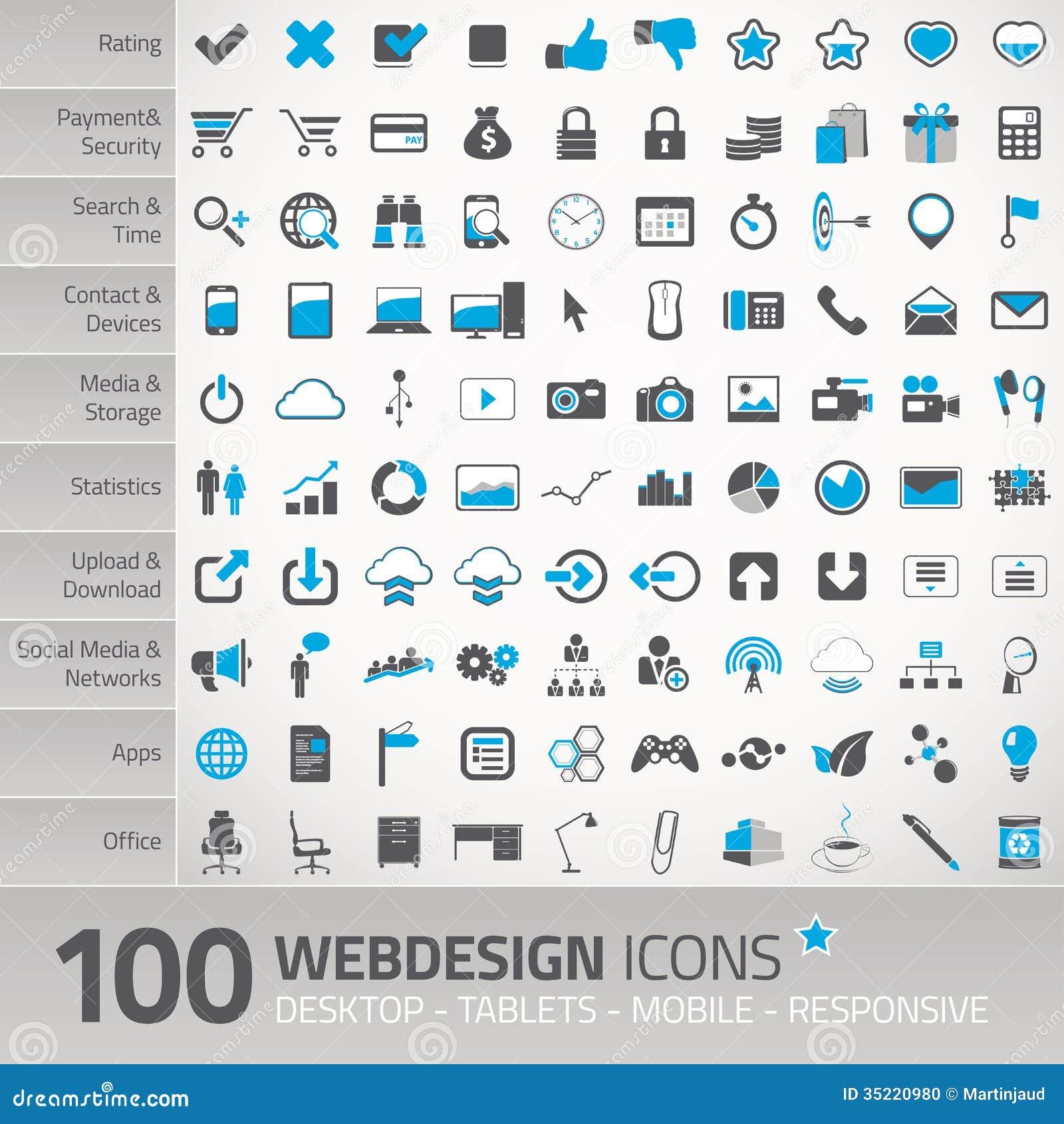 Web Design Icons - marwer