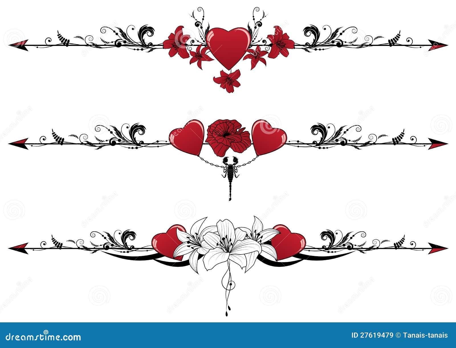 Valentine Borders Free   New Calendar Template Site