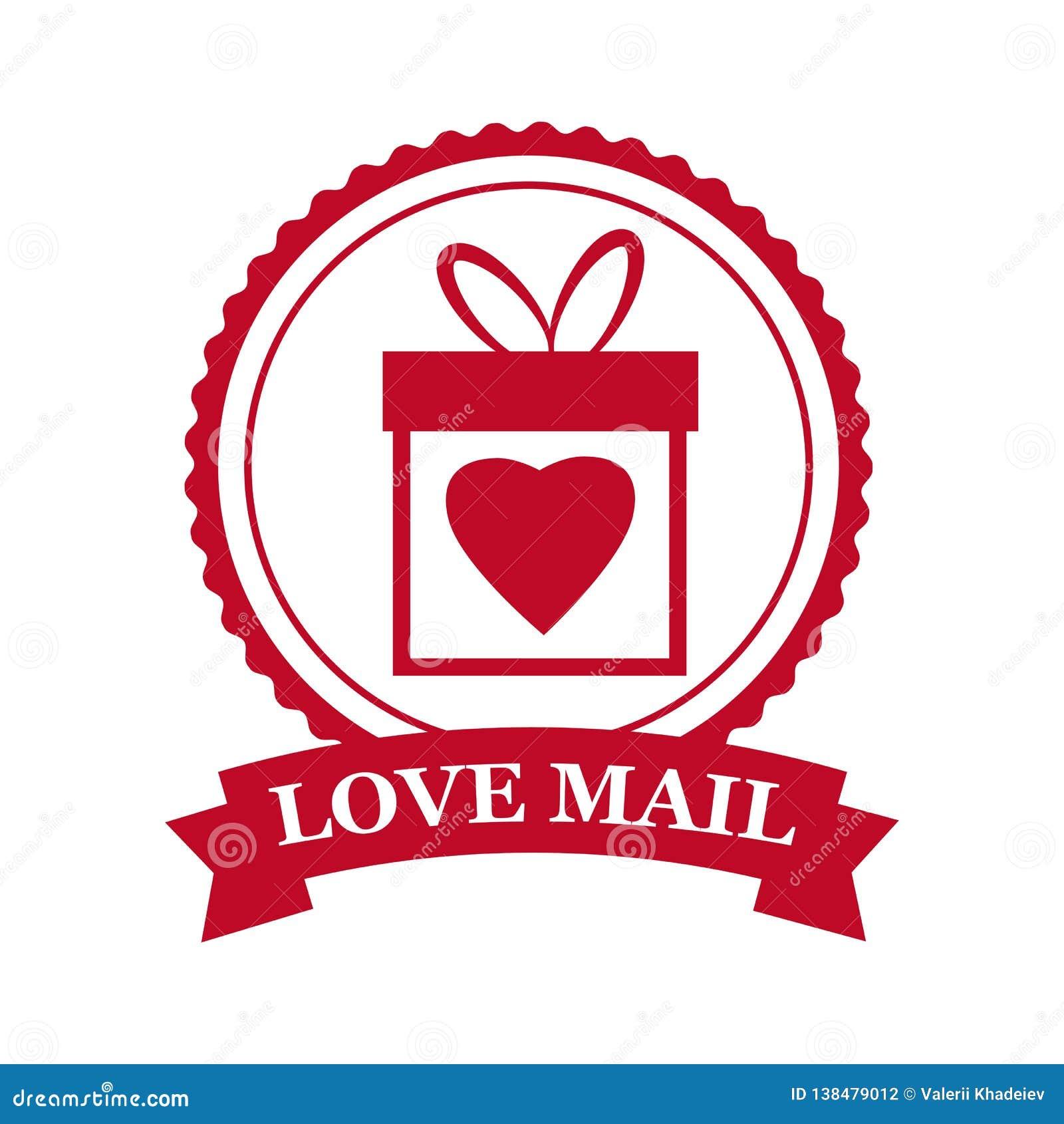 Set Valentine S Day And Wedding Romantic Love Mail Gift Box