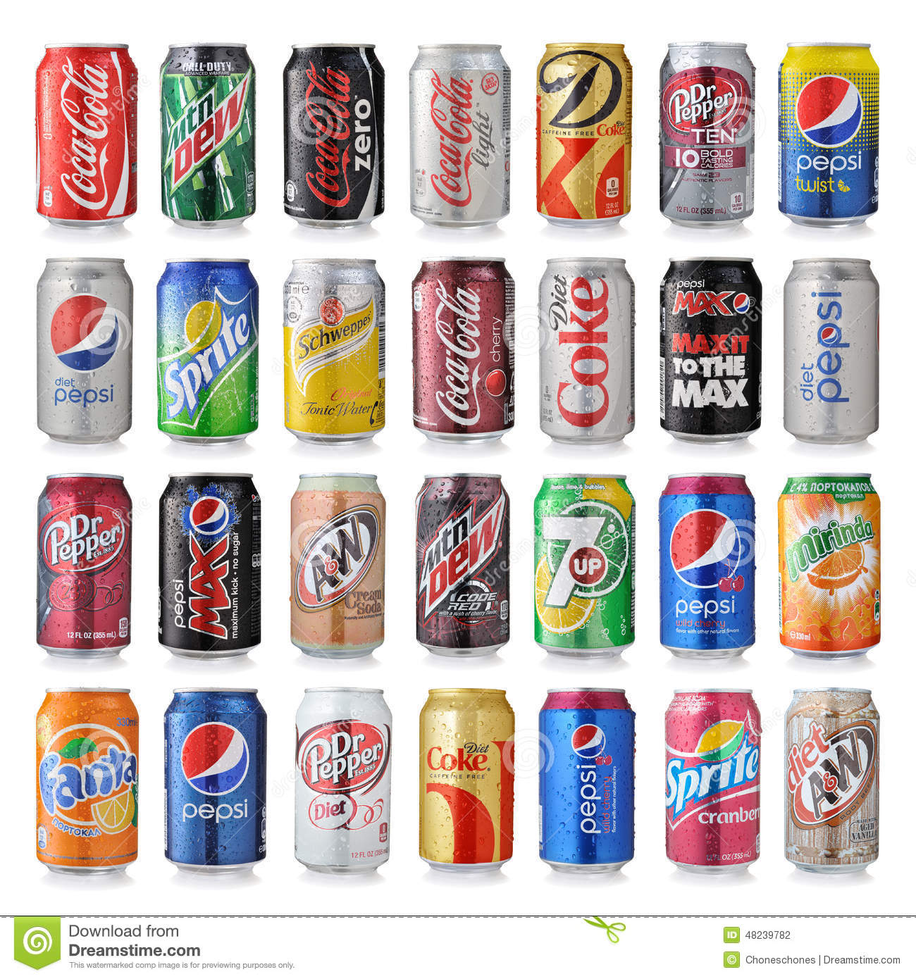 Types Of Energy Drinks In Usa