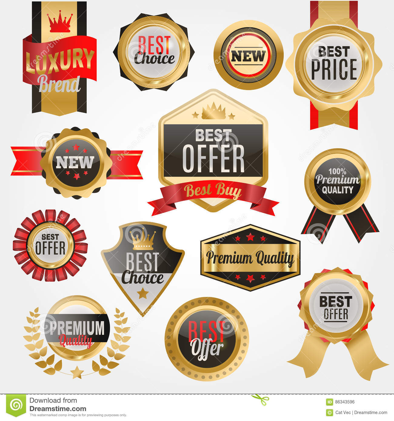 Set of vector badges shop product sale best price stickers and buy commerce advertising tag symbol discount promotion vector illustration