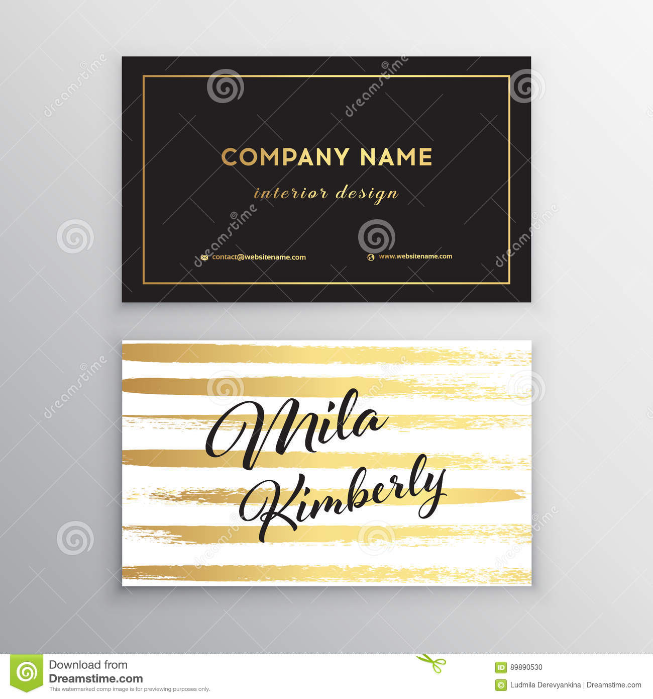 Set of vector business card templates with brush stroke background royalty free vector download set of vector business card templates accmission Choice Image