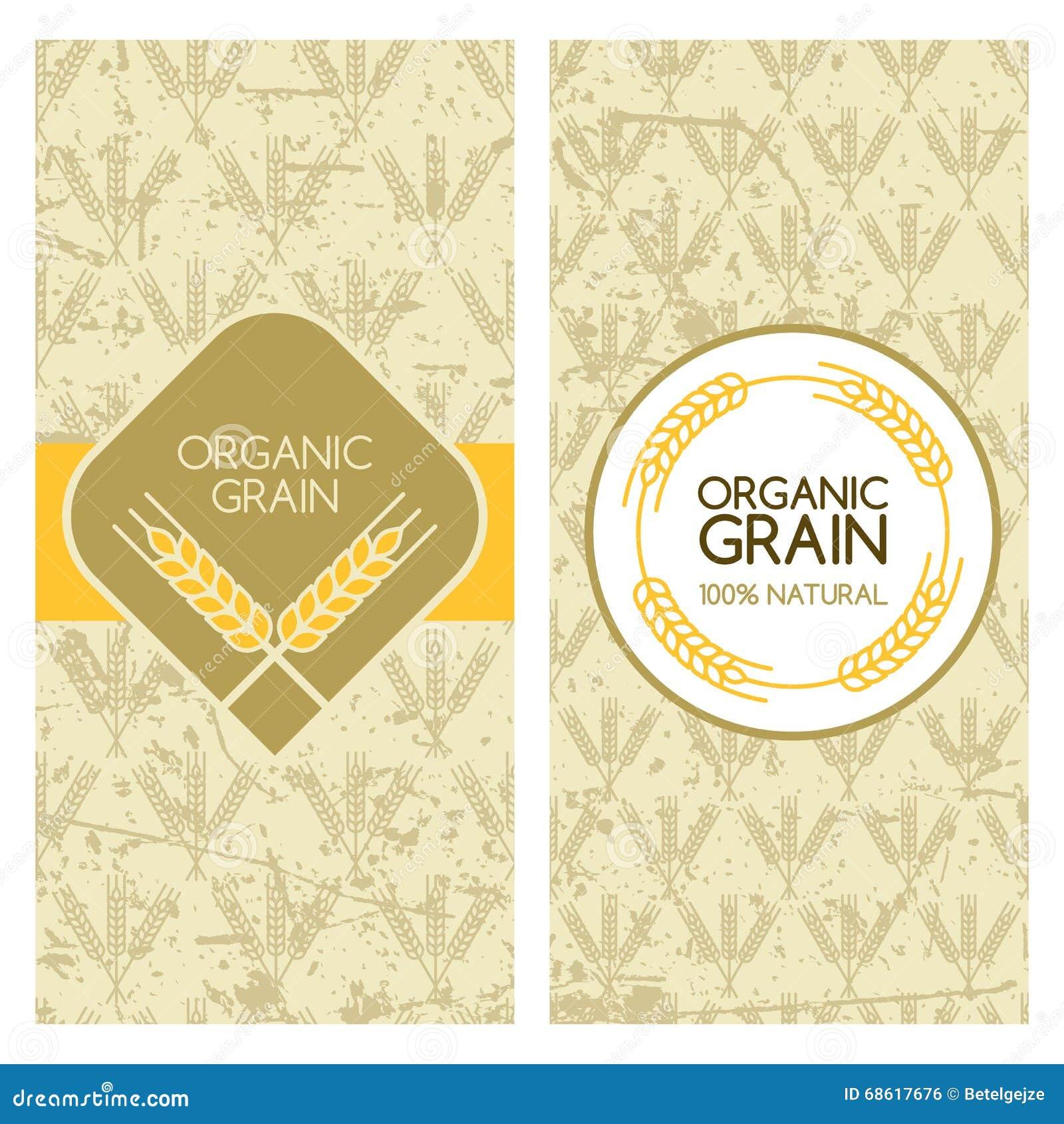 set of vector grunge backgrounds for banner label package template stock vector image 68617676. Black Bedroom Furniture Sets. Home Design Ideas