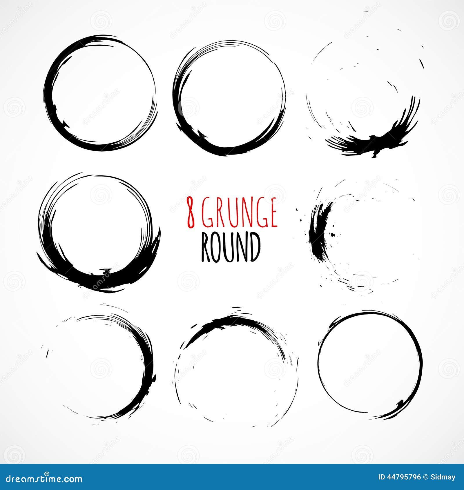 of vector grunge circle - photo #31