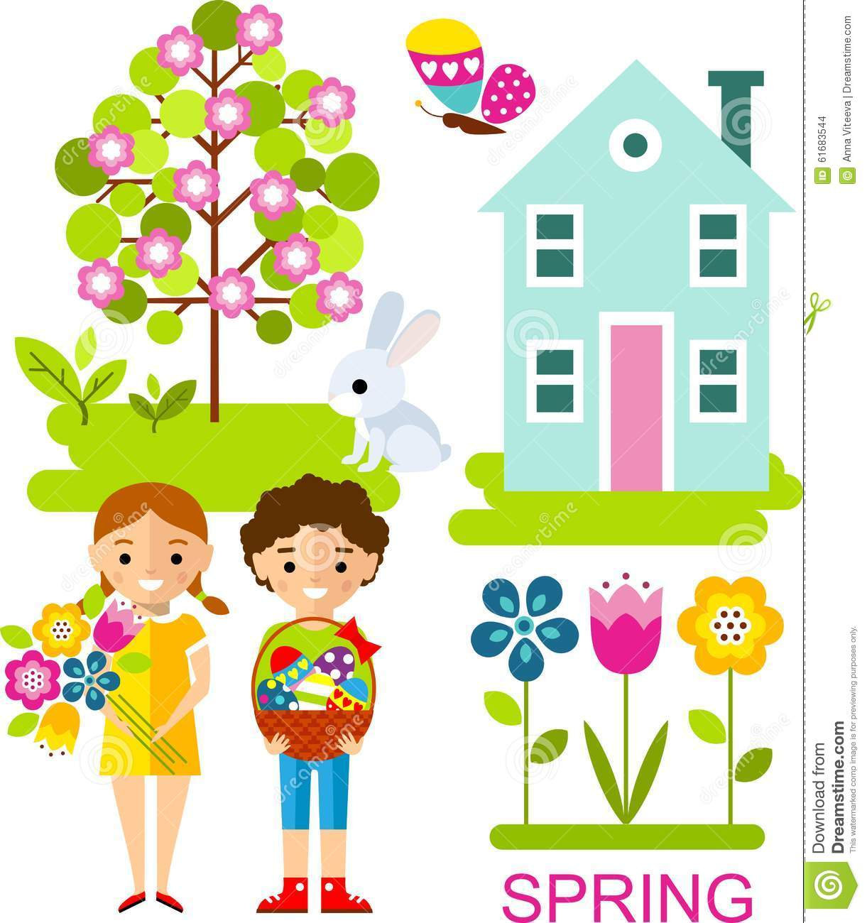 134 Words Short Essay on Spring season for kids