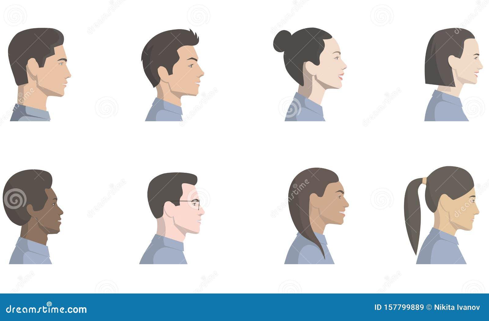 Men Hair Side Stock Illustrations 741 Men Hair Side Stock Illustrations Vectors Clipart Dreamstime