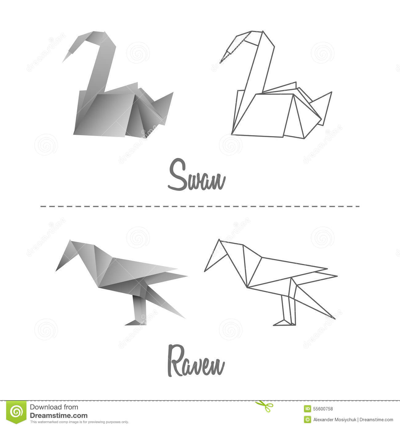 Japanese Tips: origami art from used chopstick wrappers | Showcase ... | 1390x1300