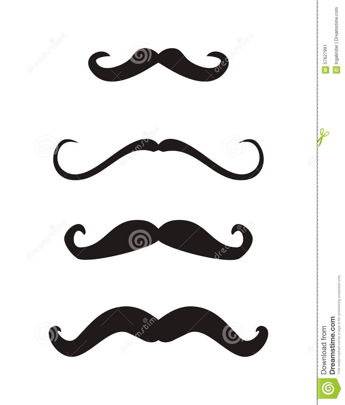 Imperial Mustache Template