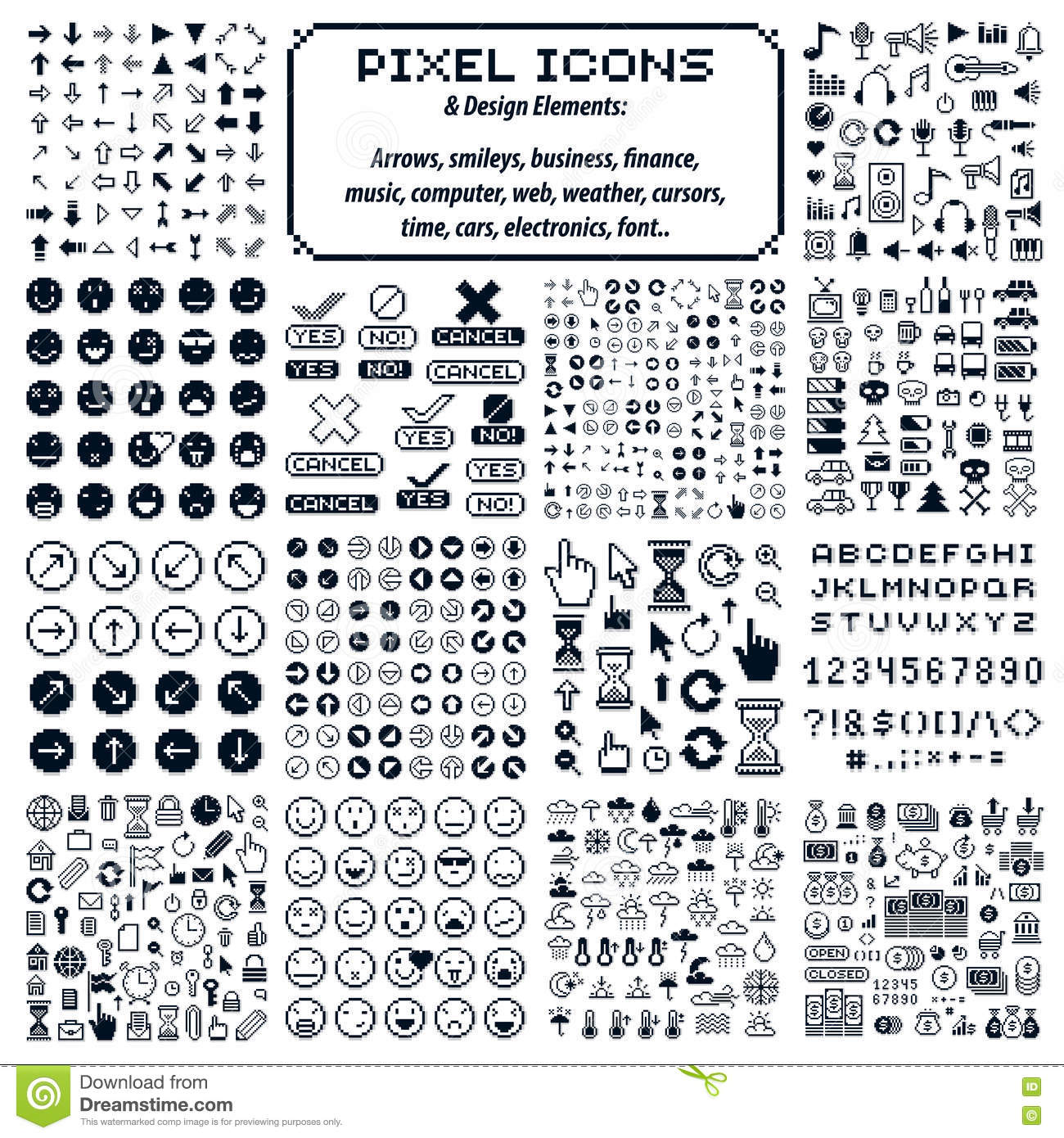 Amazing Electronics And Electrical Symbols Collection - Everything ...