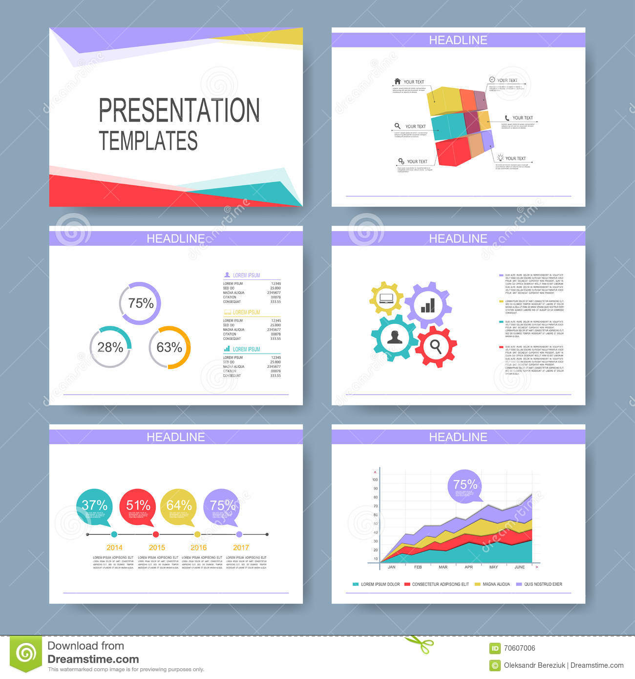 Set of vector templates for multipurpose presentation slides modern set of vector templates for multipurpose presentation slides modern business design with graph and charts leaflet toneelgroepblik Image collections