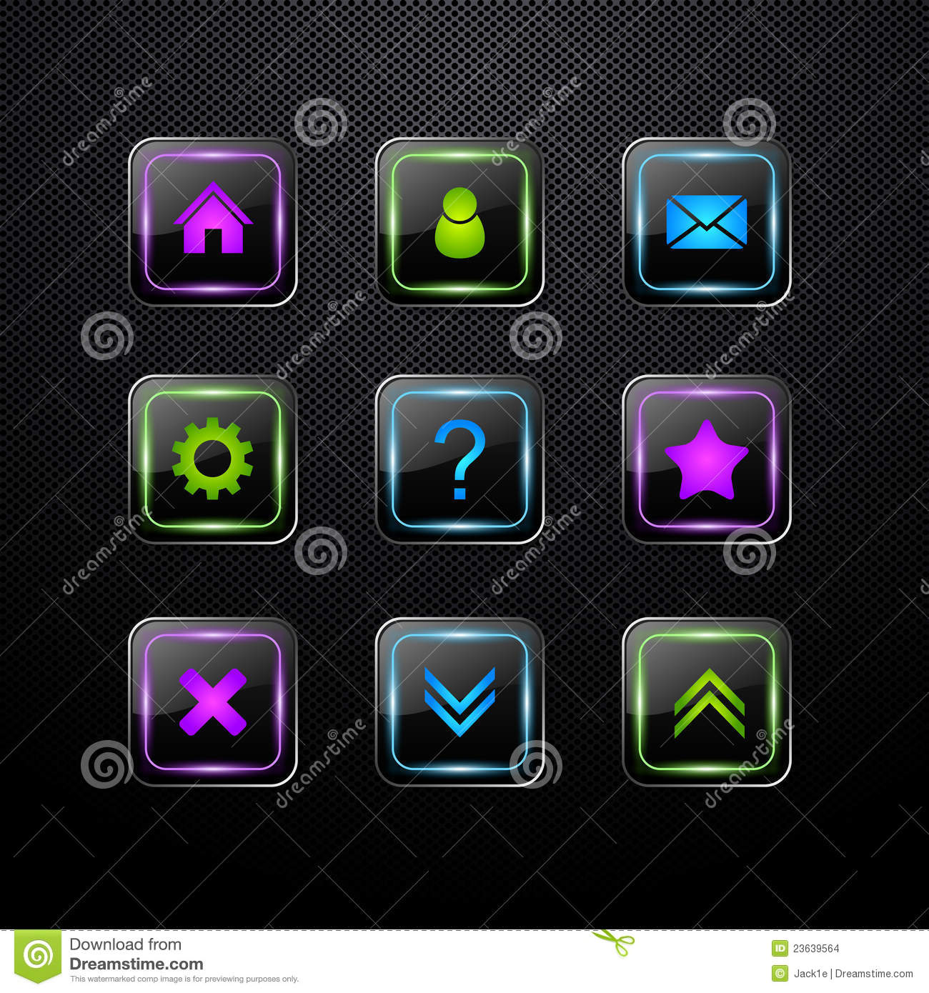 Set of vector web icons