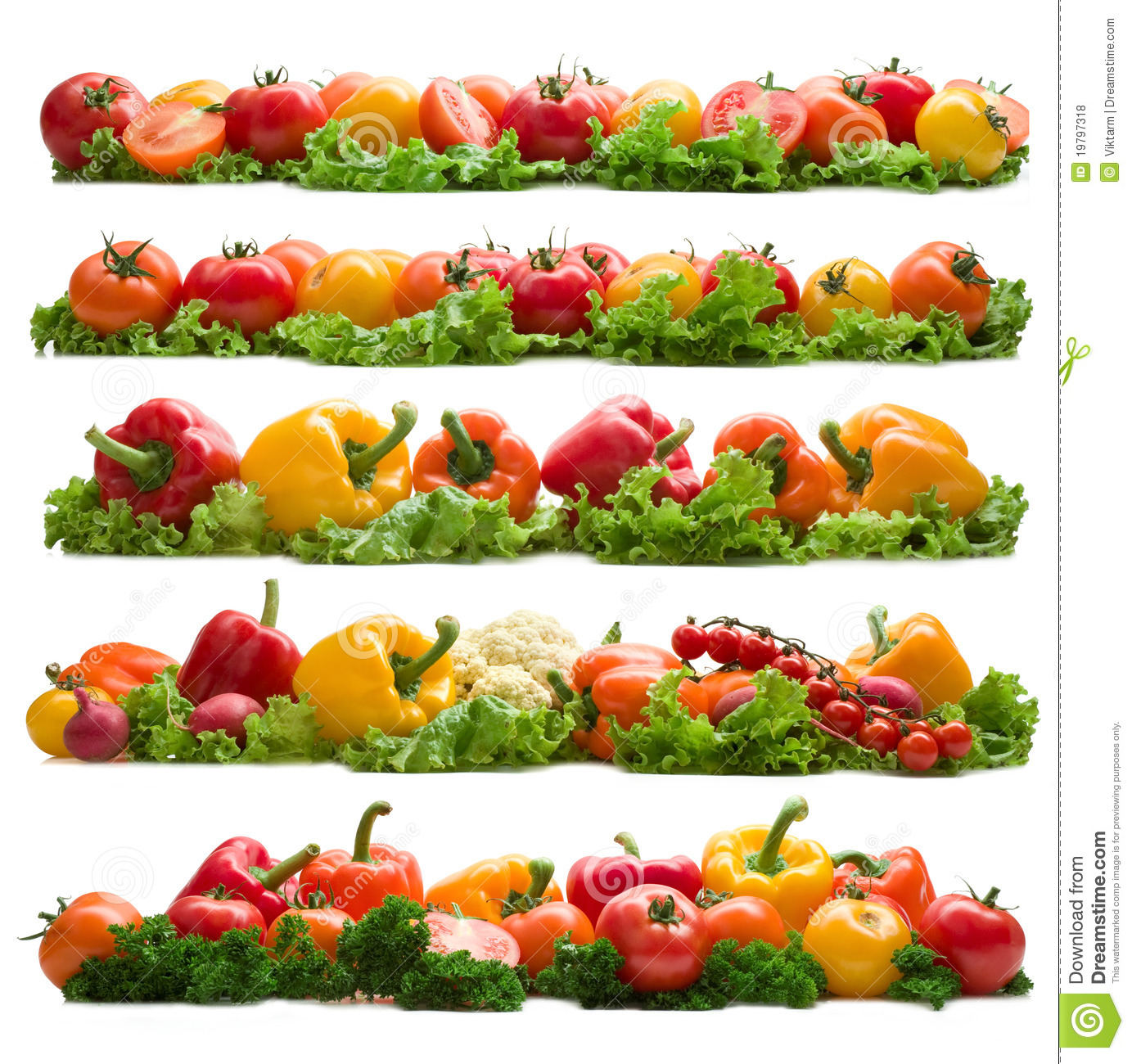 Set Of Vegetable Backgrounds Royalty Free Stock Photos  Image