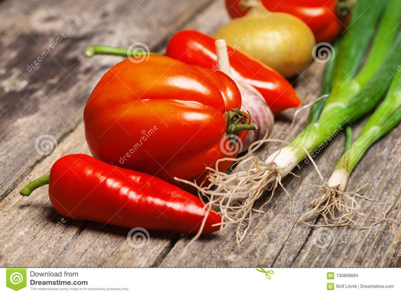 Download Vegetables on the table stock photo. Image of natural - 100806684