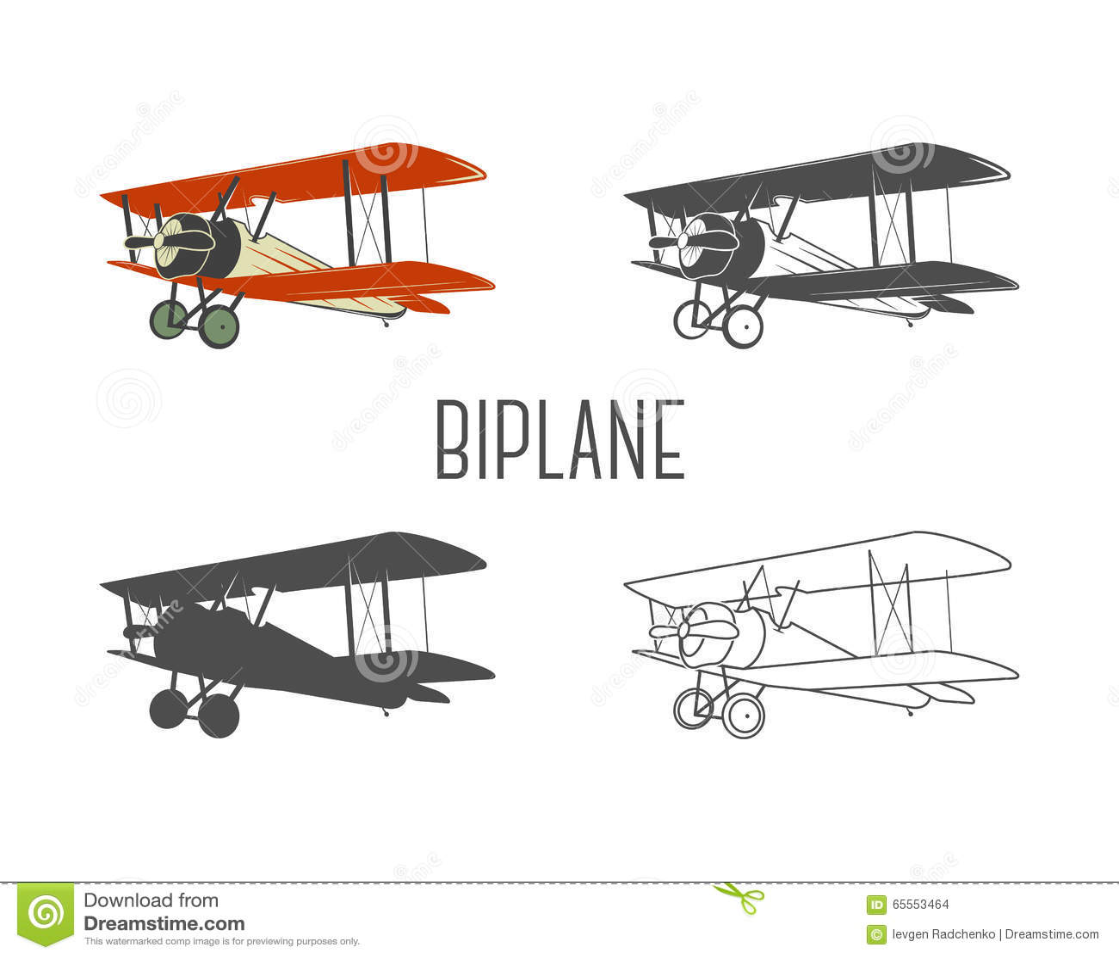 vintage airplane clipart - photo #45