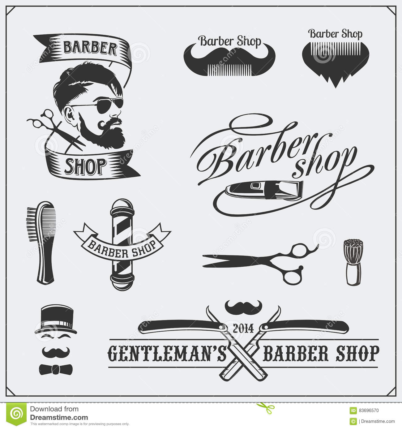 Shop Elements Of Design Vintage 28 Images Set Of Vintage Barber Shop Design Elements Labels