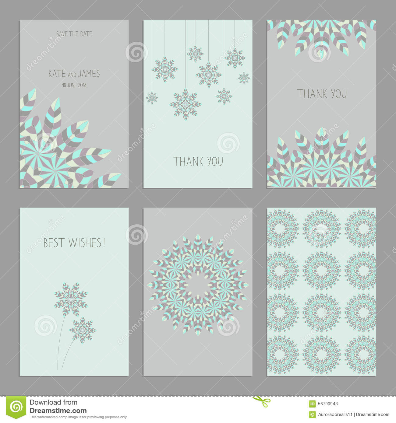 Set Of Vintage Cards Templates In Ethnic Style Stock Image Image - Save the date indian wedding templates free