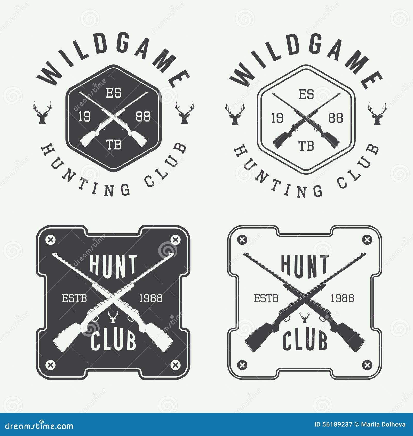 Mega Set Of Vintage Badge Shapes And Logo Elements Stock Vector ...