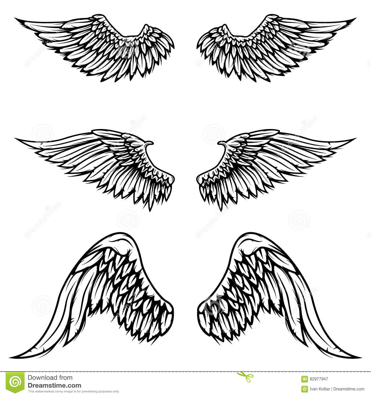 Have winged logos vintage business