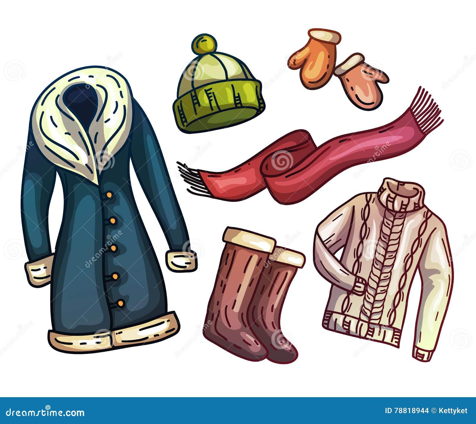 Warm Clothes Set. Stock Photo - Image: 34687730