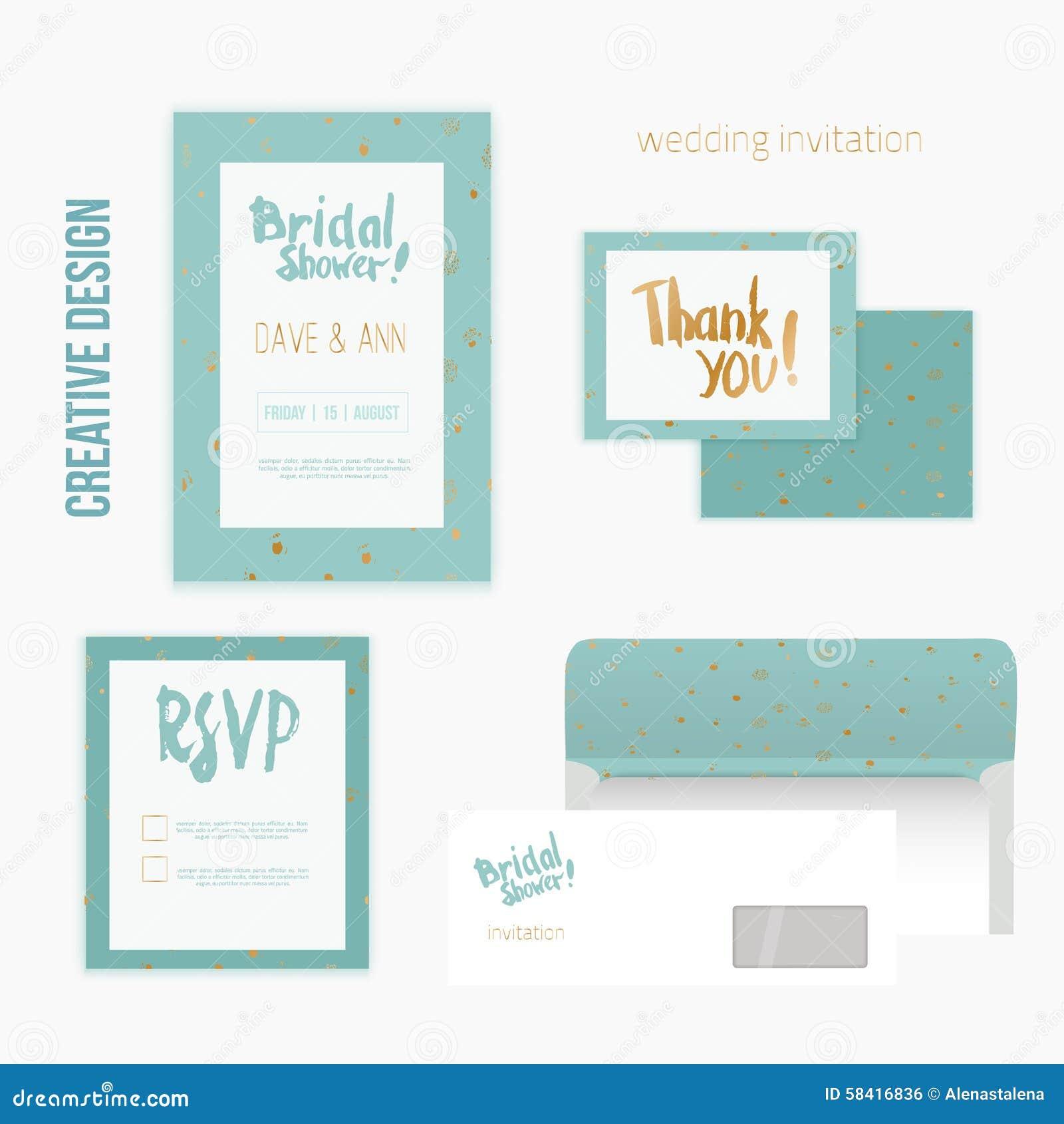 invitation card envelope