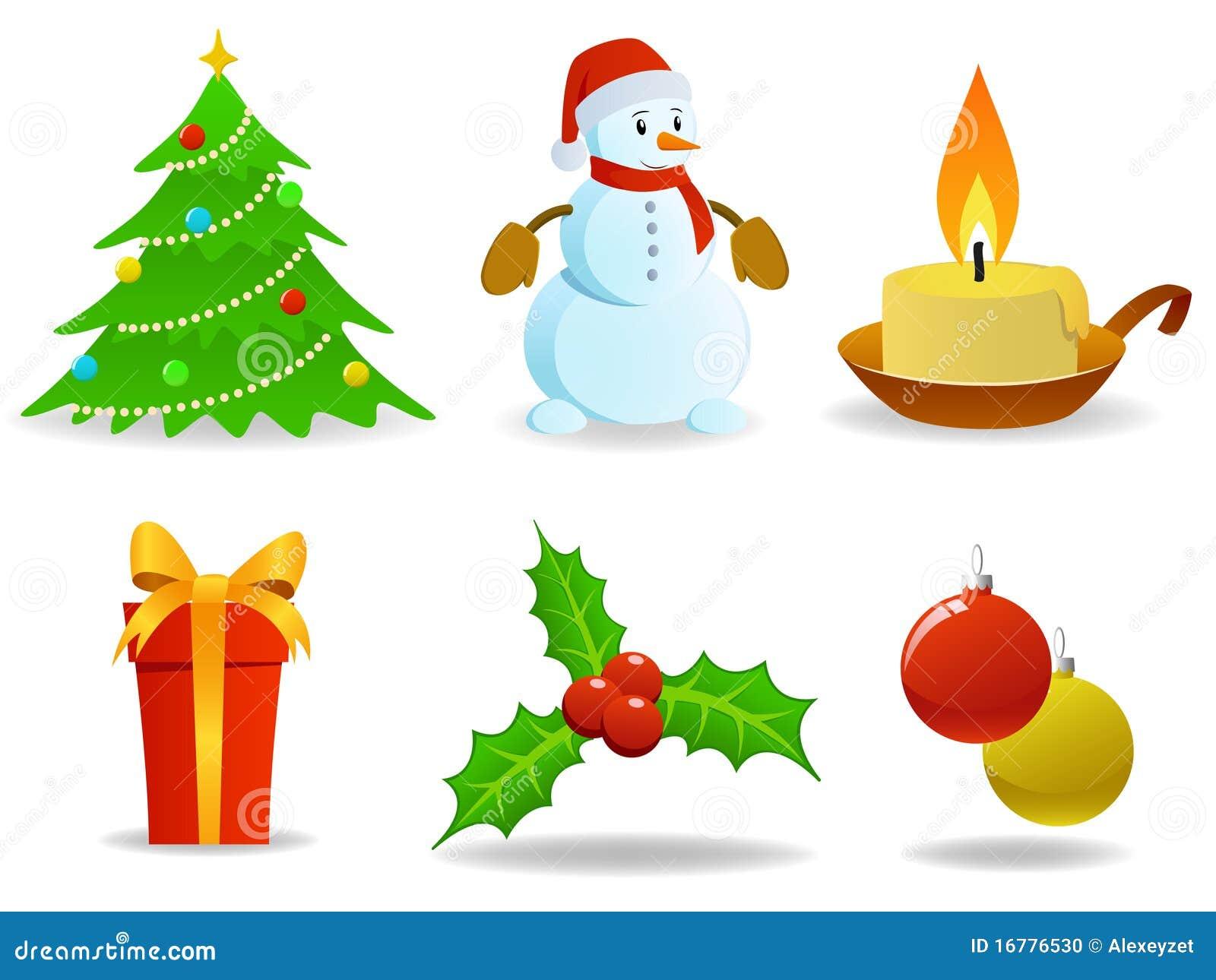 set weihnachtsbilder stockfoto bild 16776530. Black Bedroom Furniture Sets. Home Design Ideas