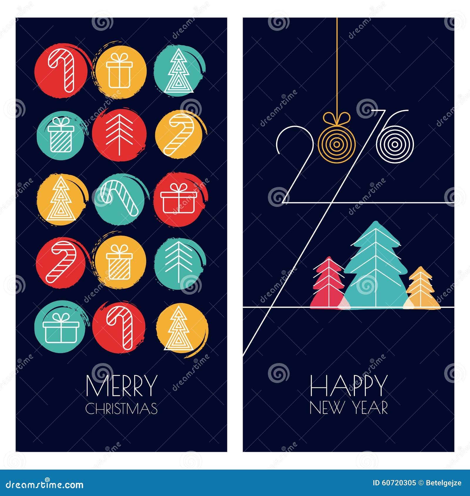 Set wektorowa ogólnoludzka ręka rysujący kartka z pozdrowieniami dla bożych narodzeń
