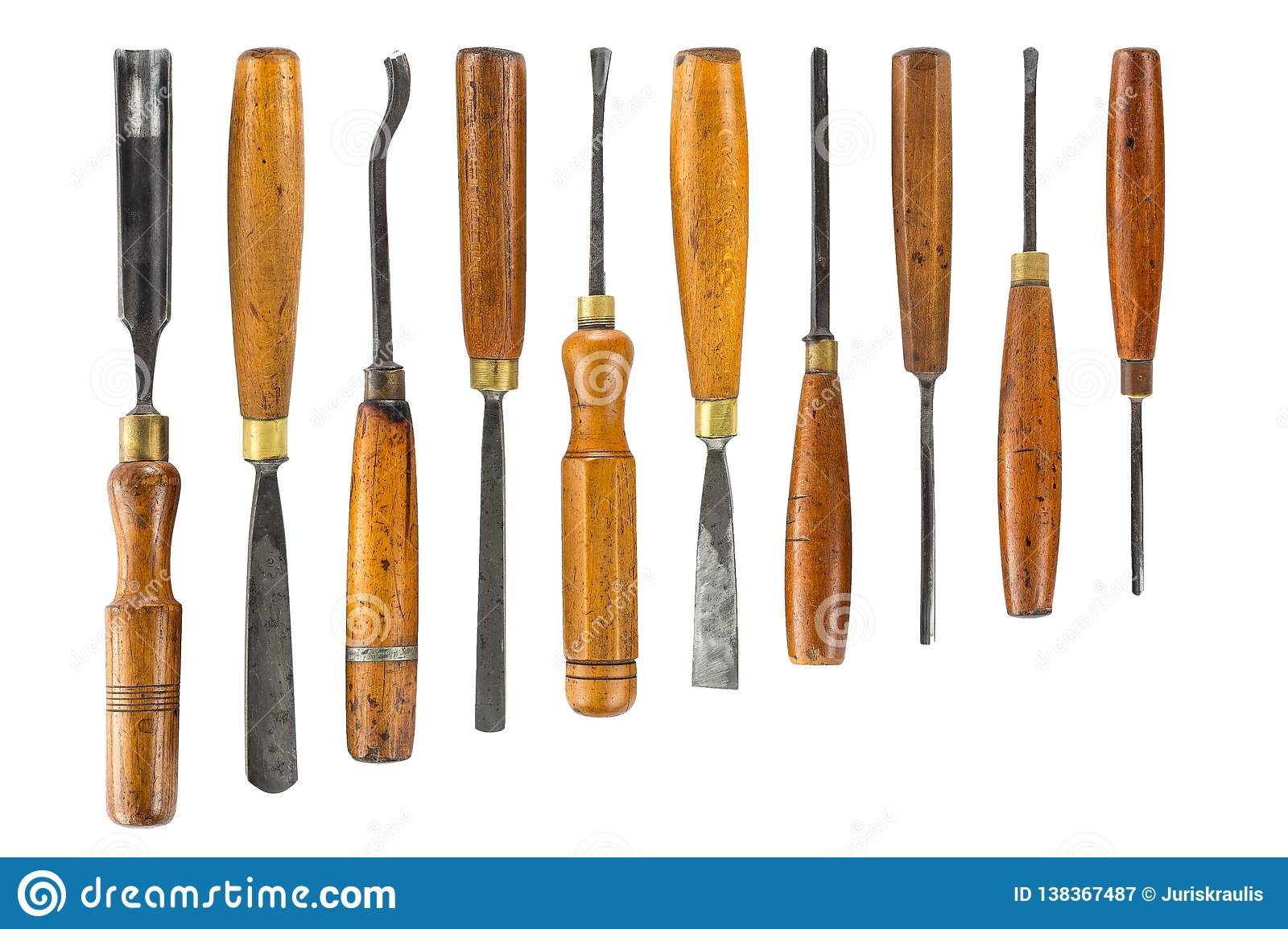 Set Of Wood Chisel For Carving Wood, Sculpture Tools On ...