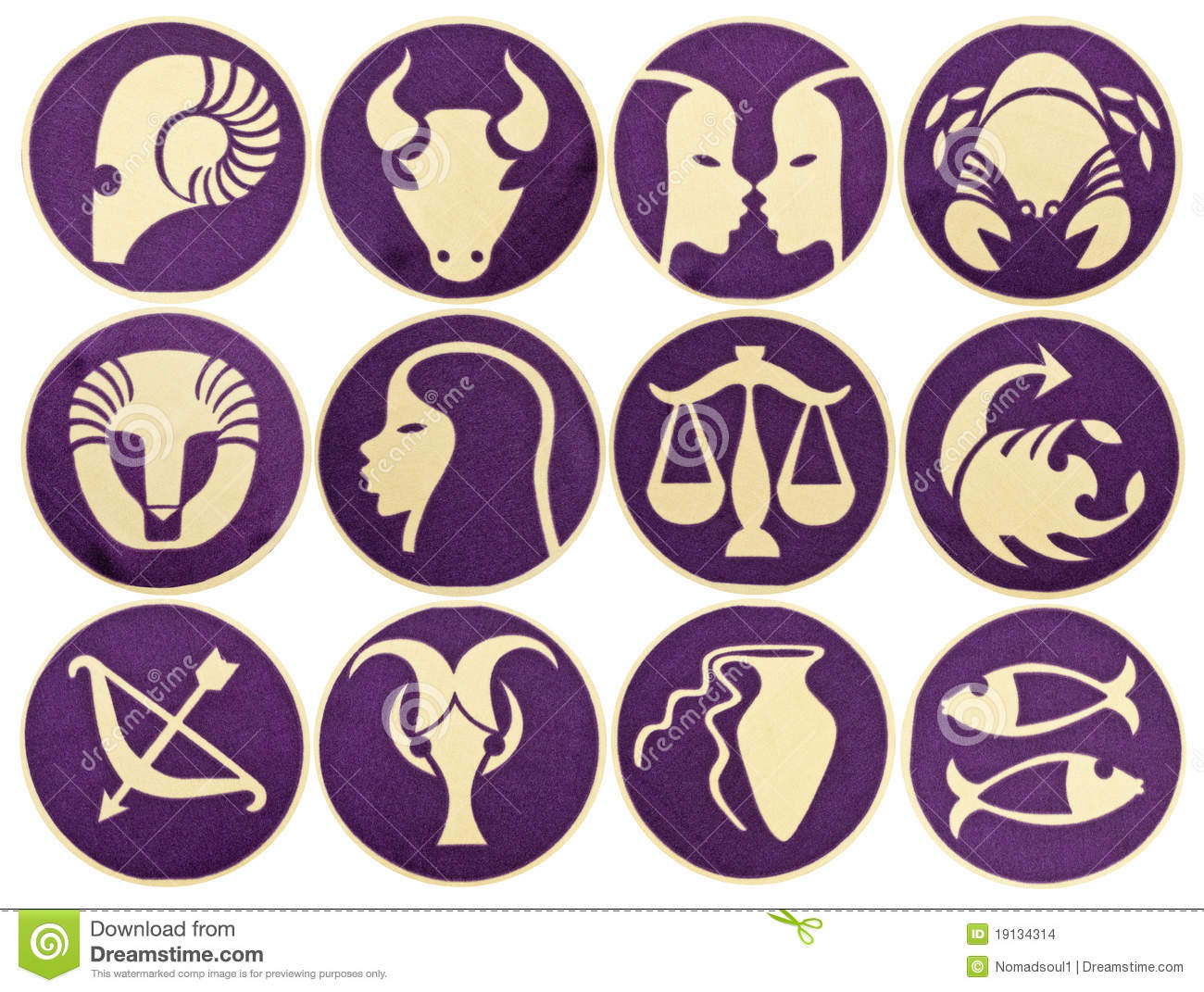Set of zodiac symbols stock vector illustration of astrological set of zodiac symbols stock images buycottarizona