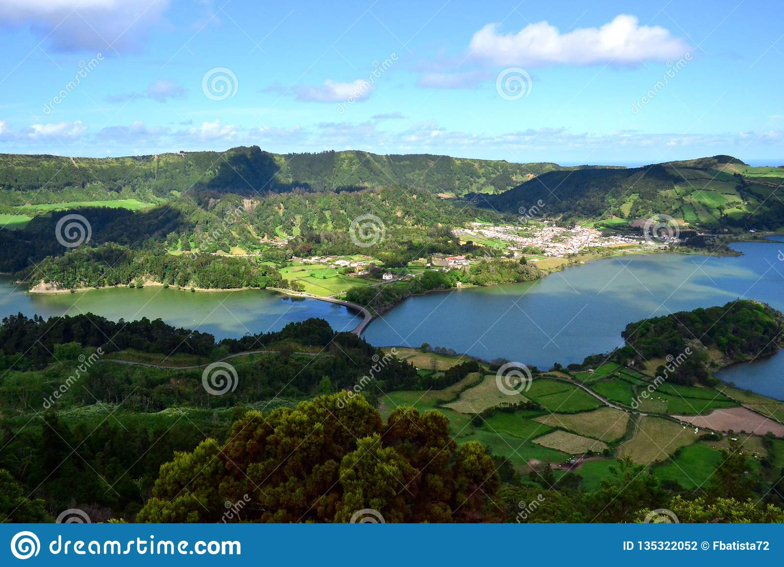 Sete Cidades lagoon, Sao Miguel, Azores, Portugal