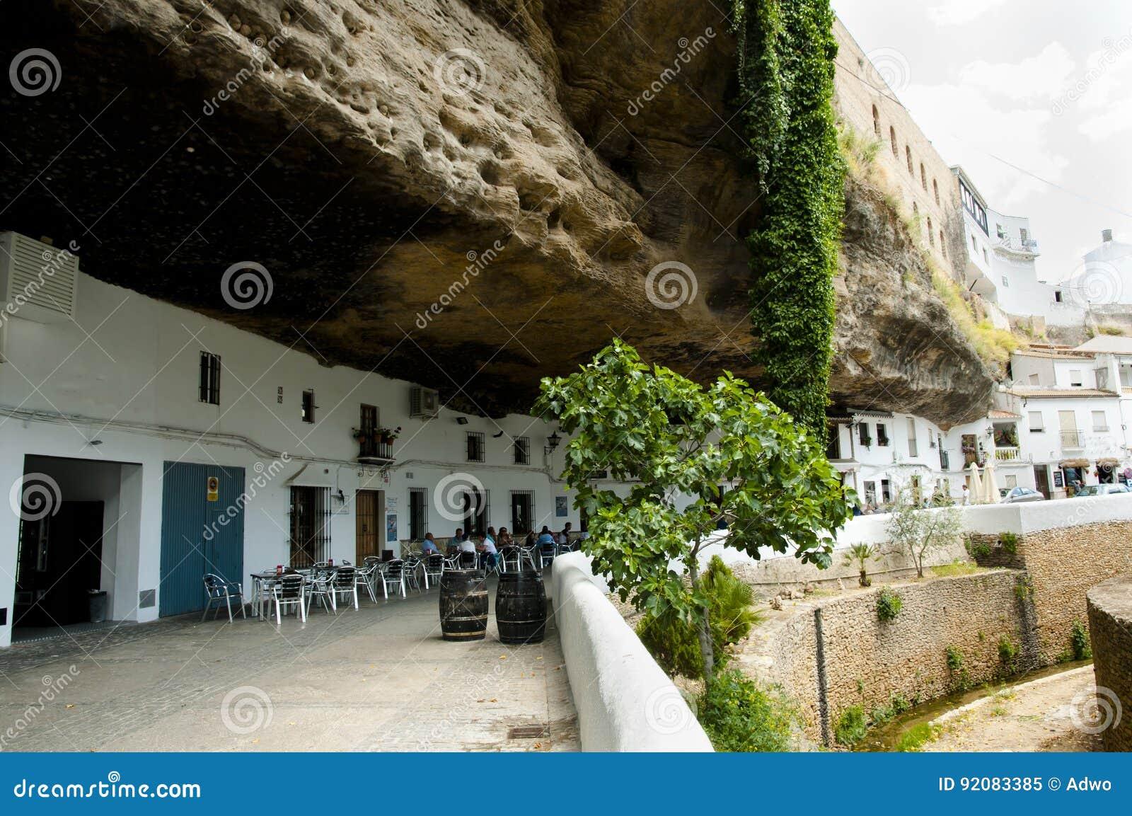 Setenil de las Bodegas - Spanje