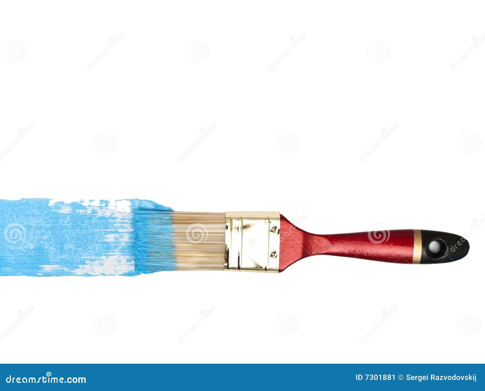 Setola con colore blu