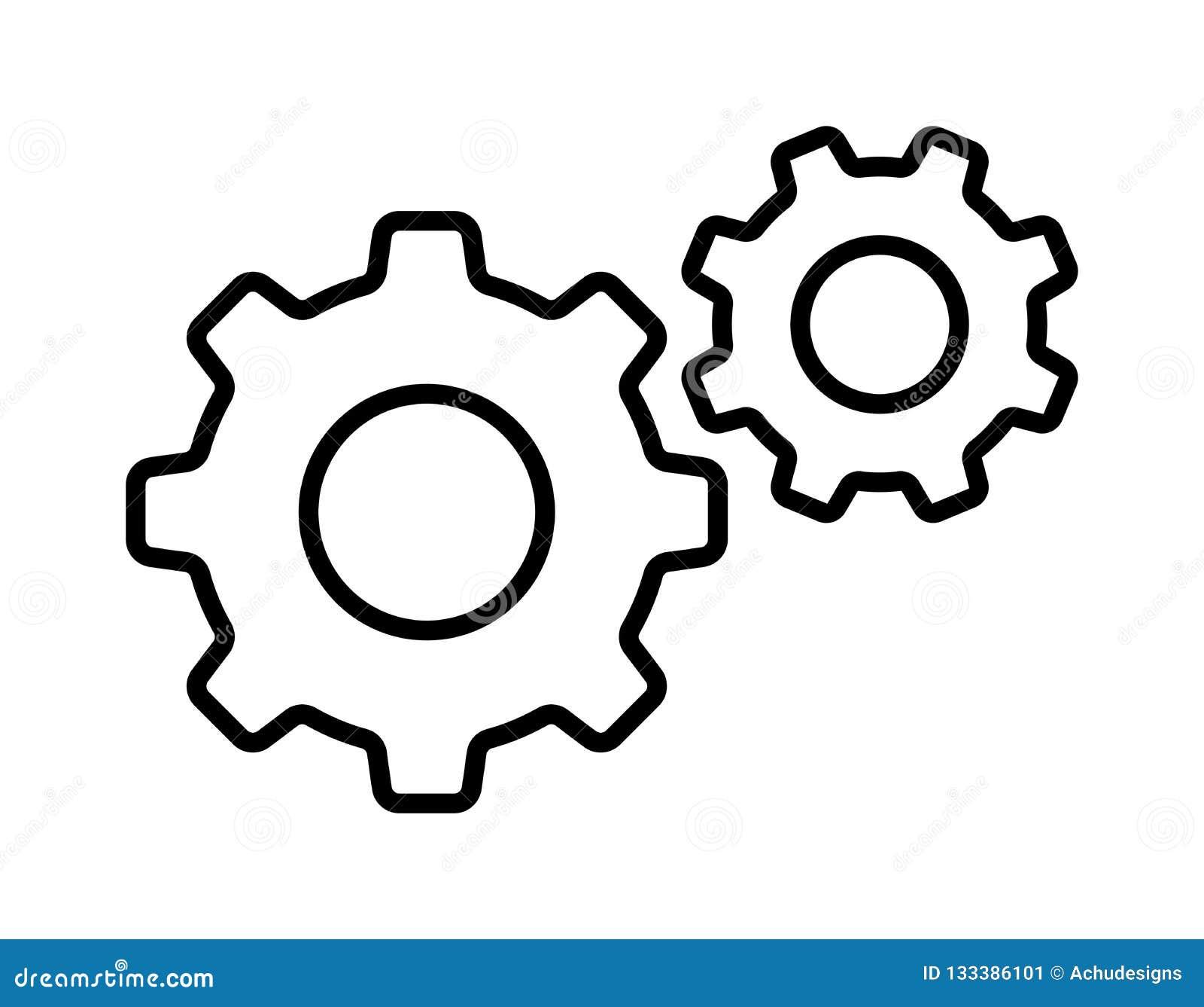 Setting gear icon