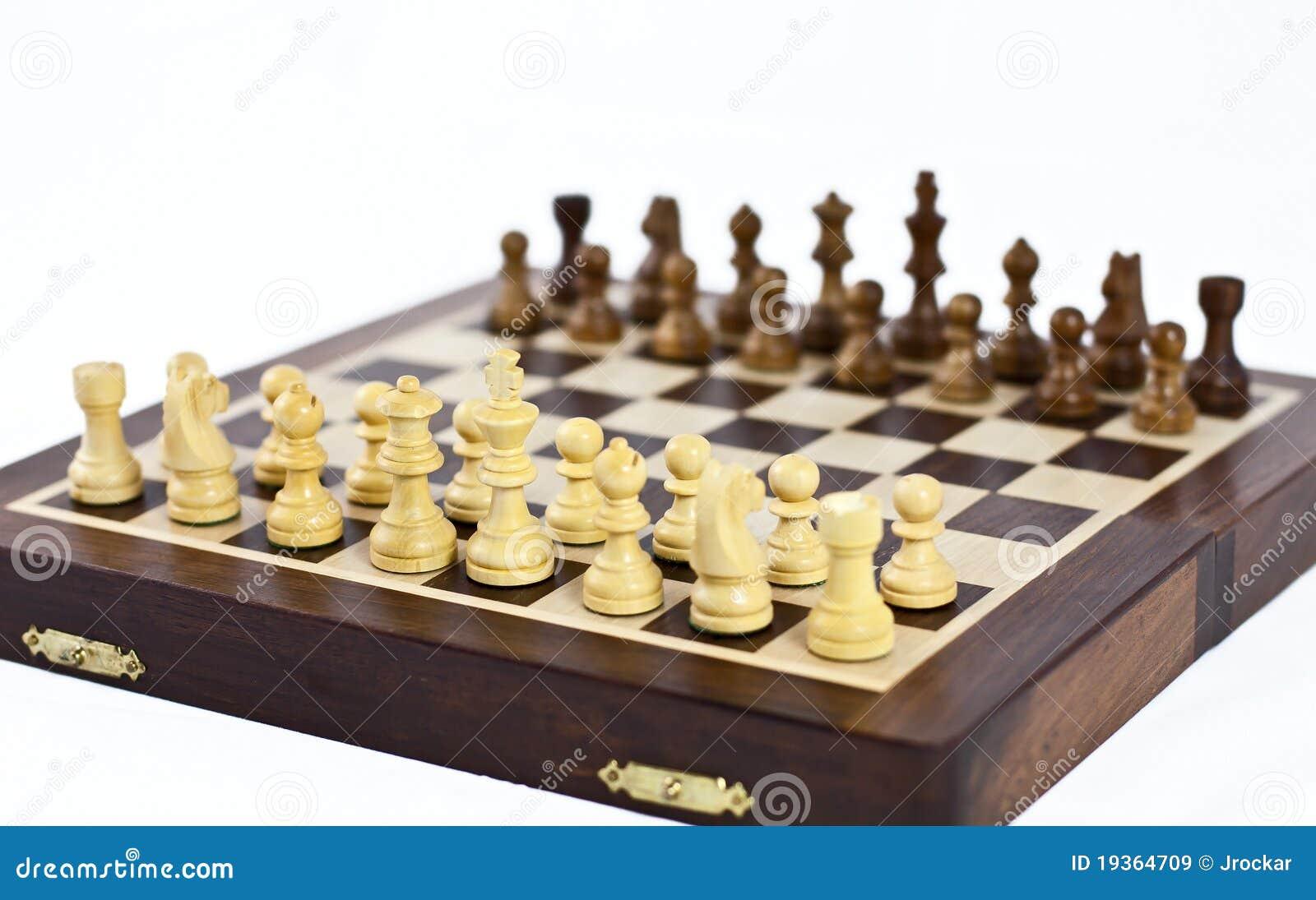 Setup o tabuleiro de xadrez