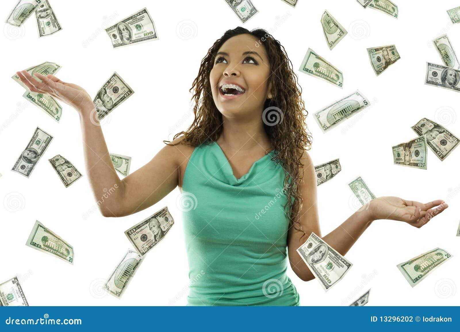 Seu dinheiro chovendo