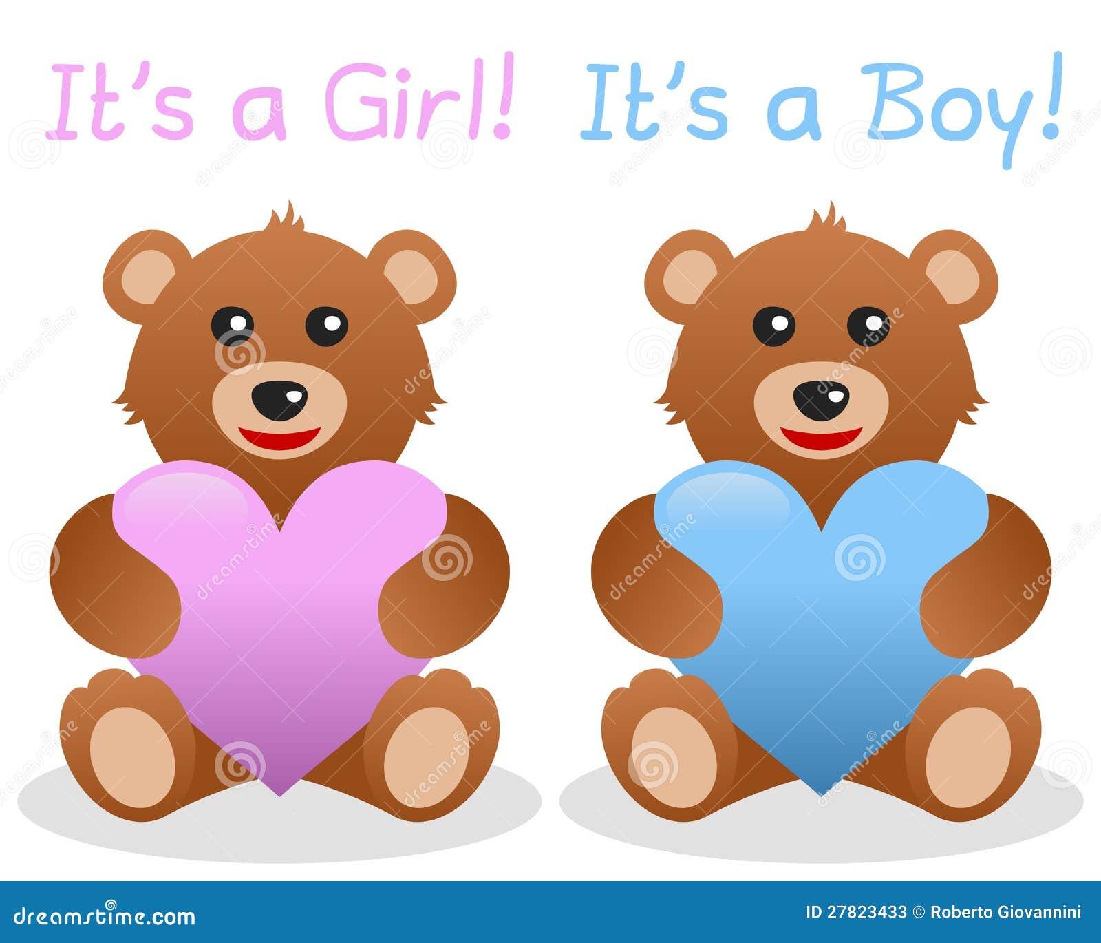 Seu Um Urso Da Peluche Da Menina E Do Menino Ilustracao Do Vetor