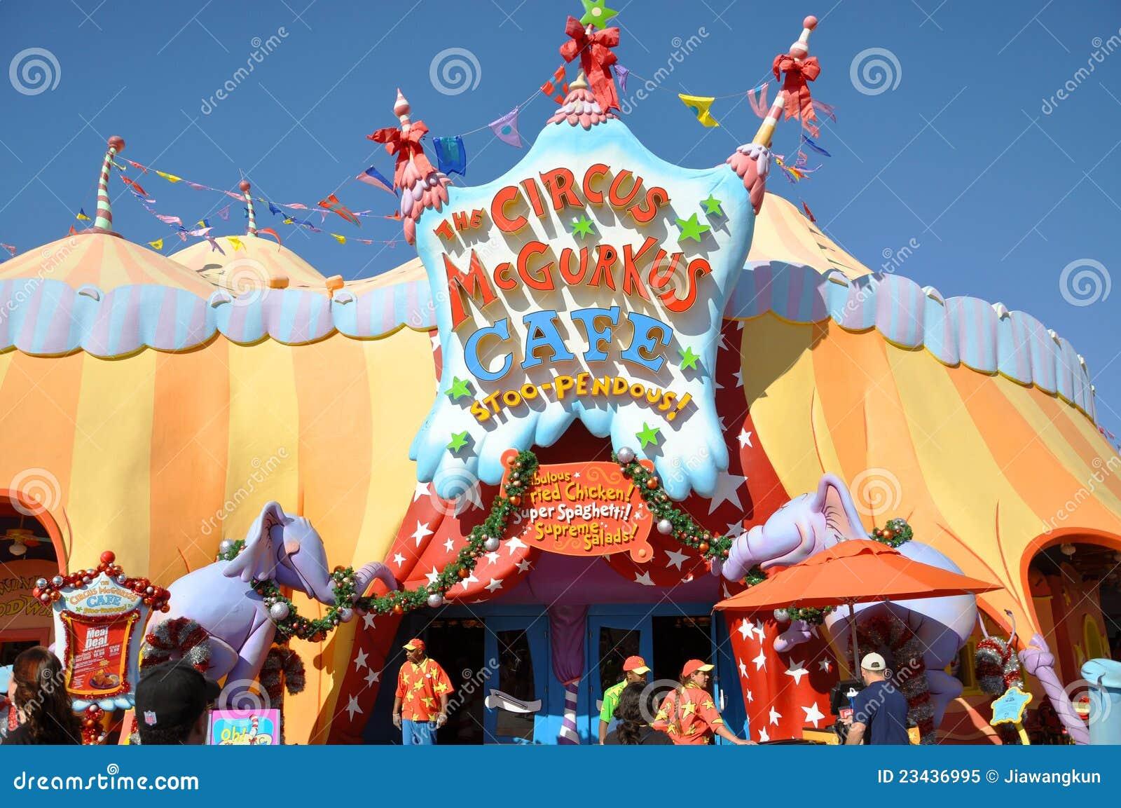 Seuss Landing in Islands of Adventure of Universal Orlando, Florida ...