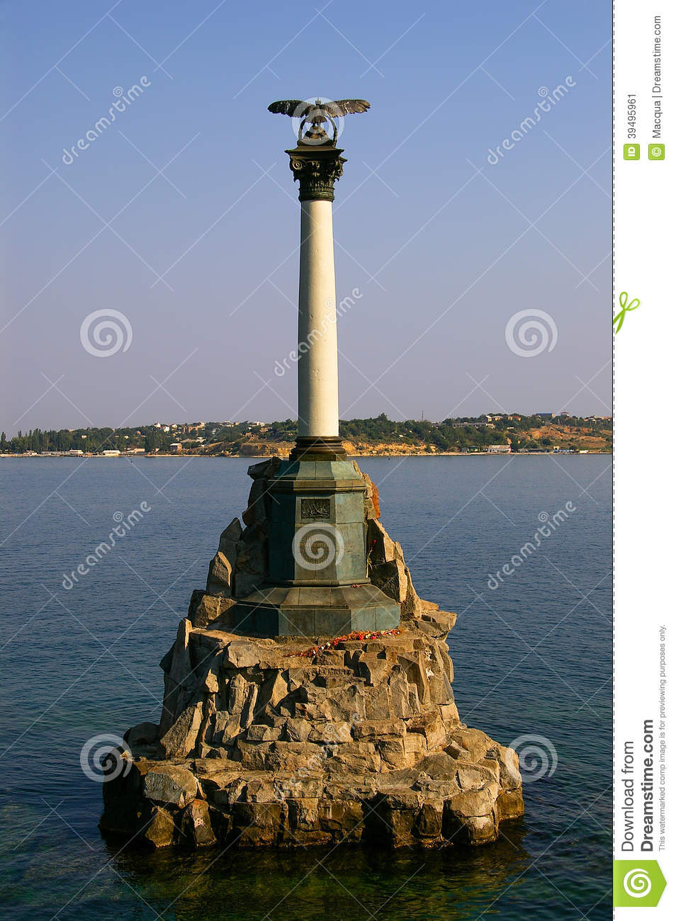 Sevastopol The Symbol Of The Crimean War Stock Image Image Of