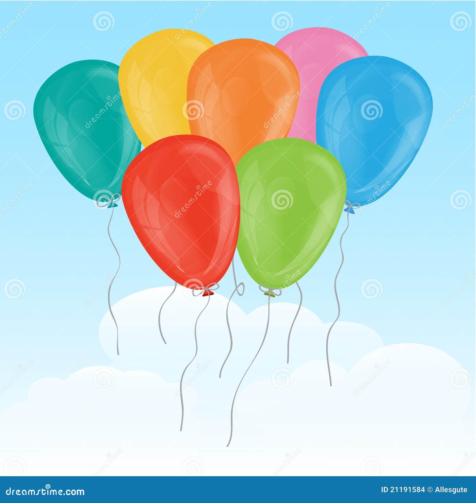 Seven Balloons