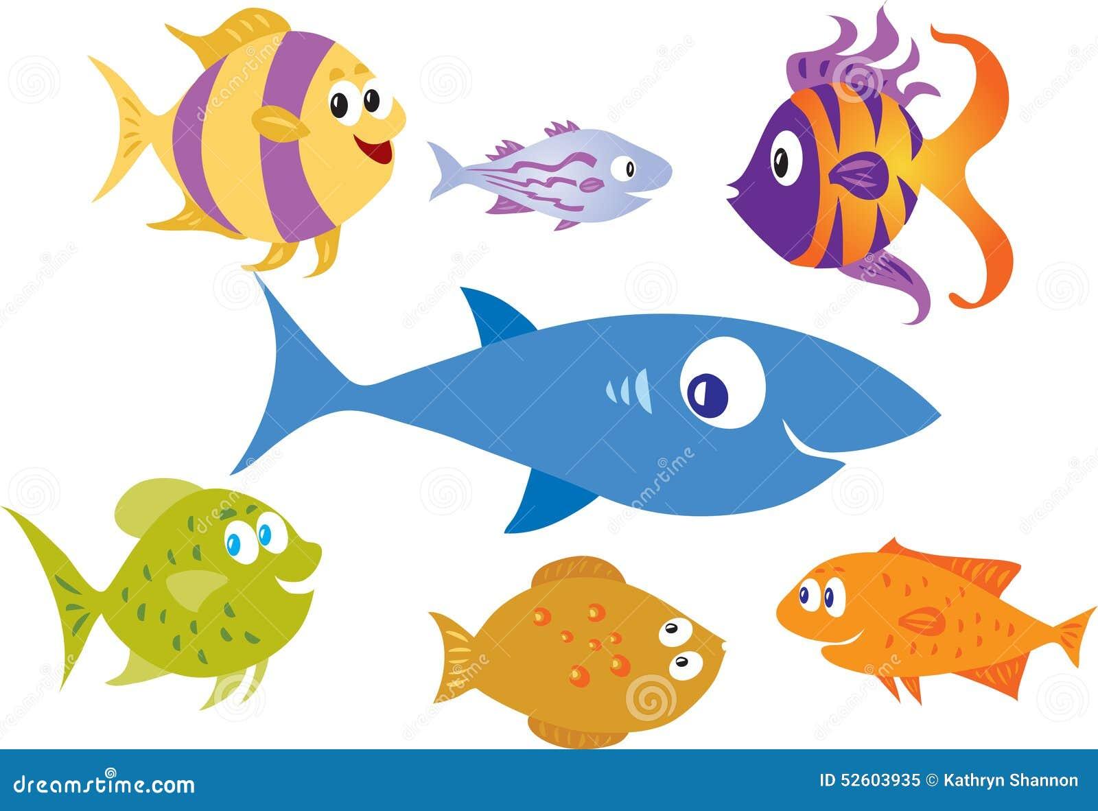 Different Fish Species