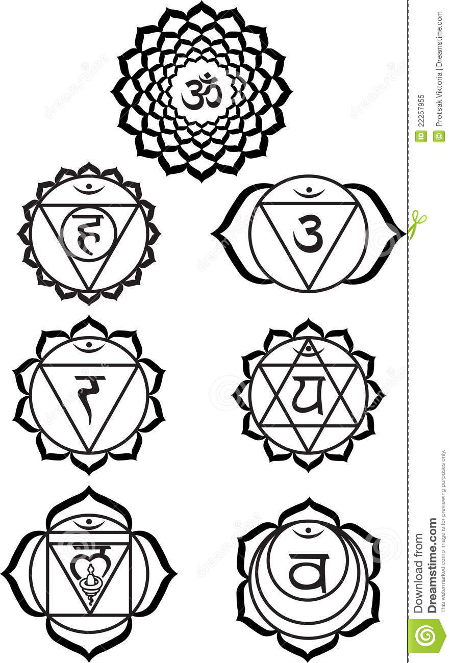 Seven Chakras Royalty Free Stock Photo - Image: 22257955