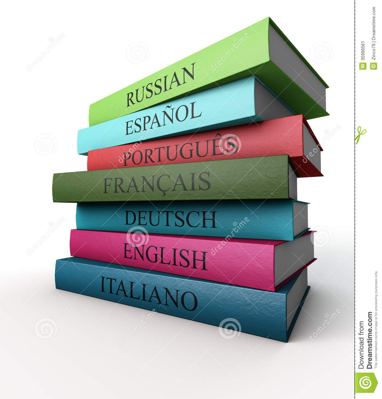 English In Italian: Seven Dictionaries Each Other, Italian, French, Spanish