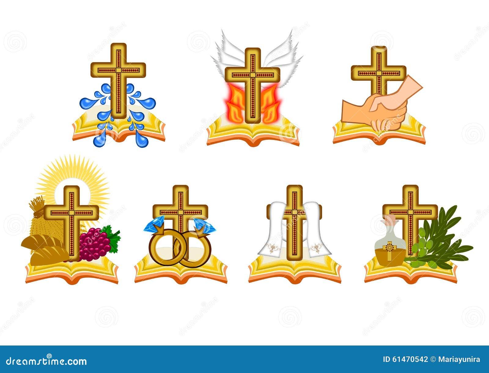 The seven sacraments stock illustration illustration of anointing the seven sacraments biocorpaavc