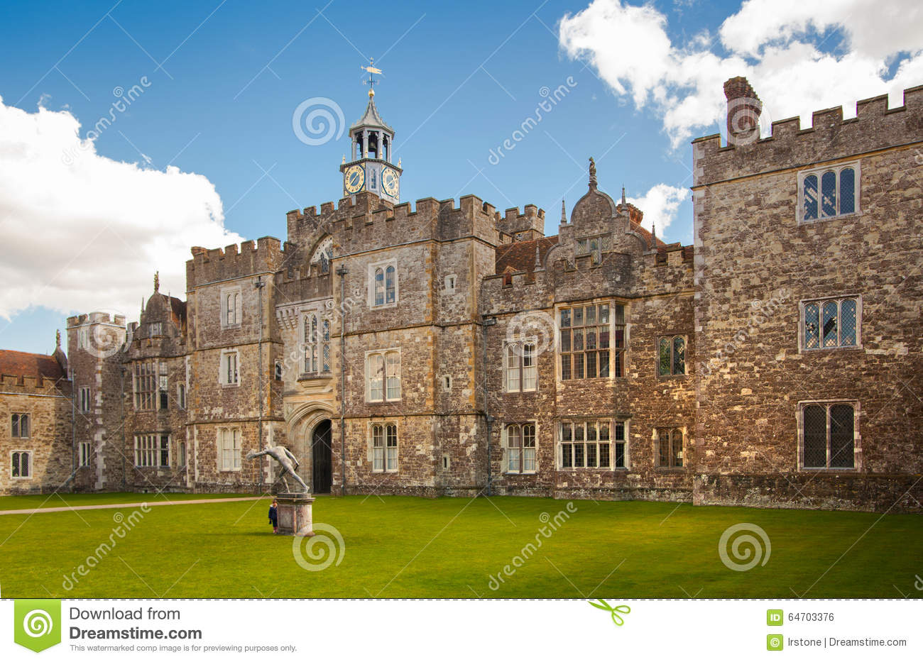 Sevenoaks Old English Mansion 15th Century Cl Ic English Countryside House