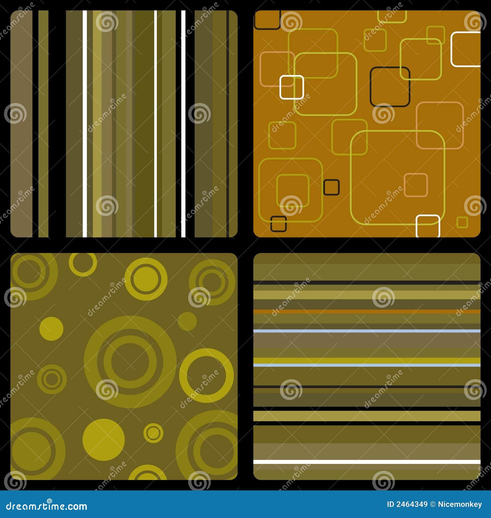 Anni 70 Colori seventies wallpaper brown stock vector. illustration of