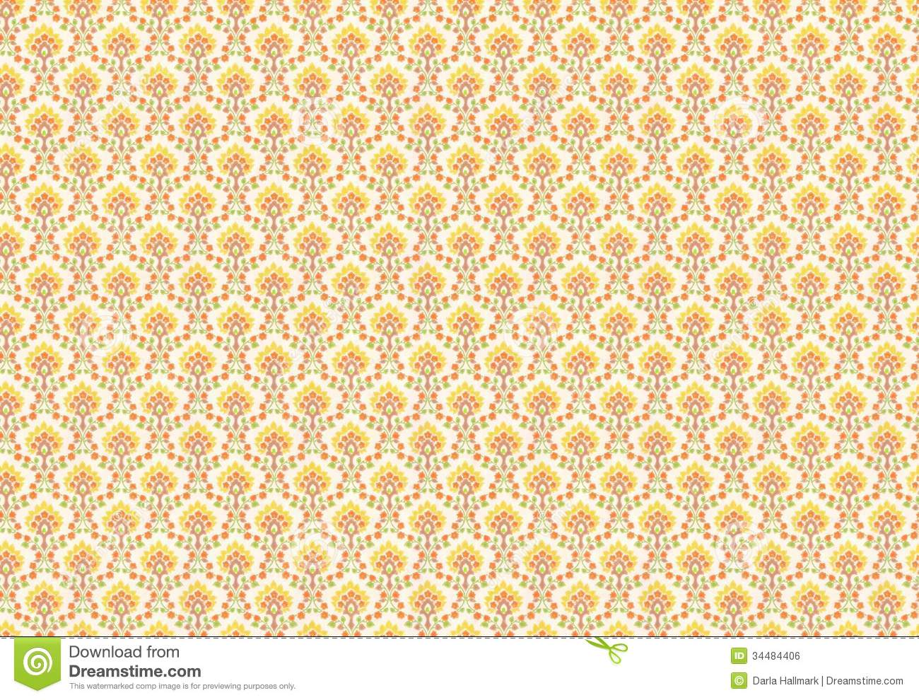 Cheap Wall Paper seventies wallpaper royalty free stock image - image: 34484406