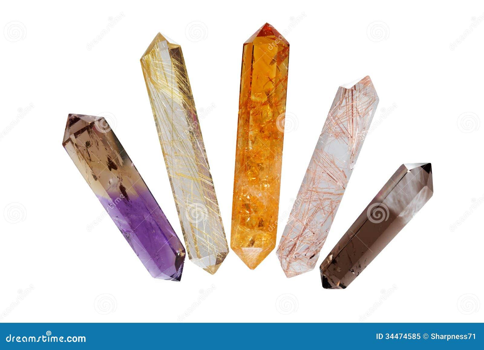 Several crystals 2