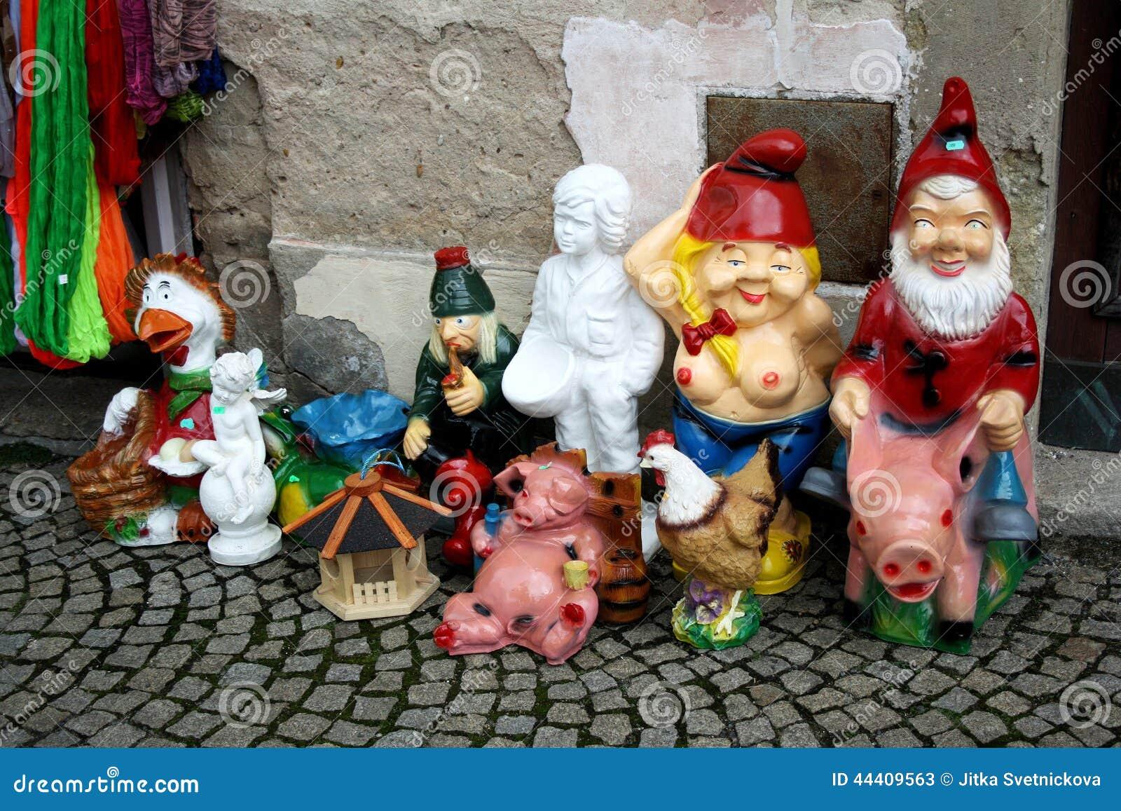 Bon Download Several Decorative Garden Statues Stock Image   Image Of  Figurines, Sale: 44409563