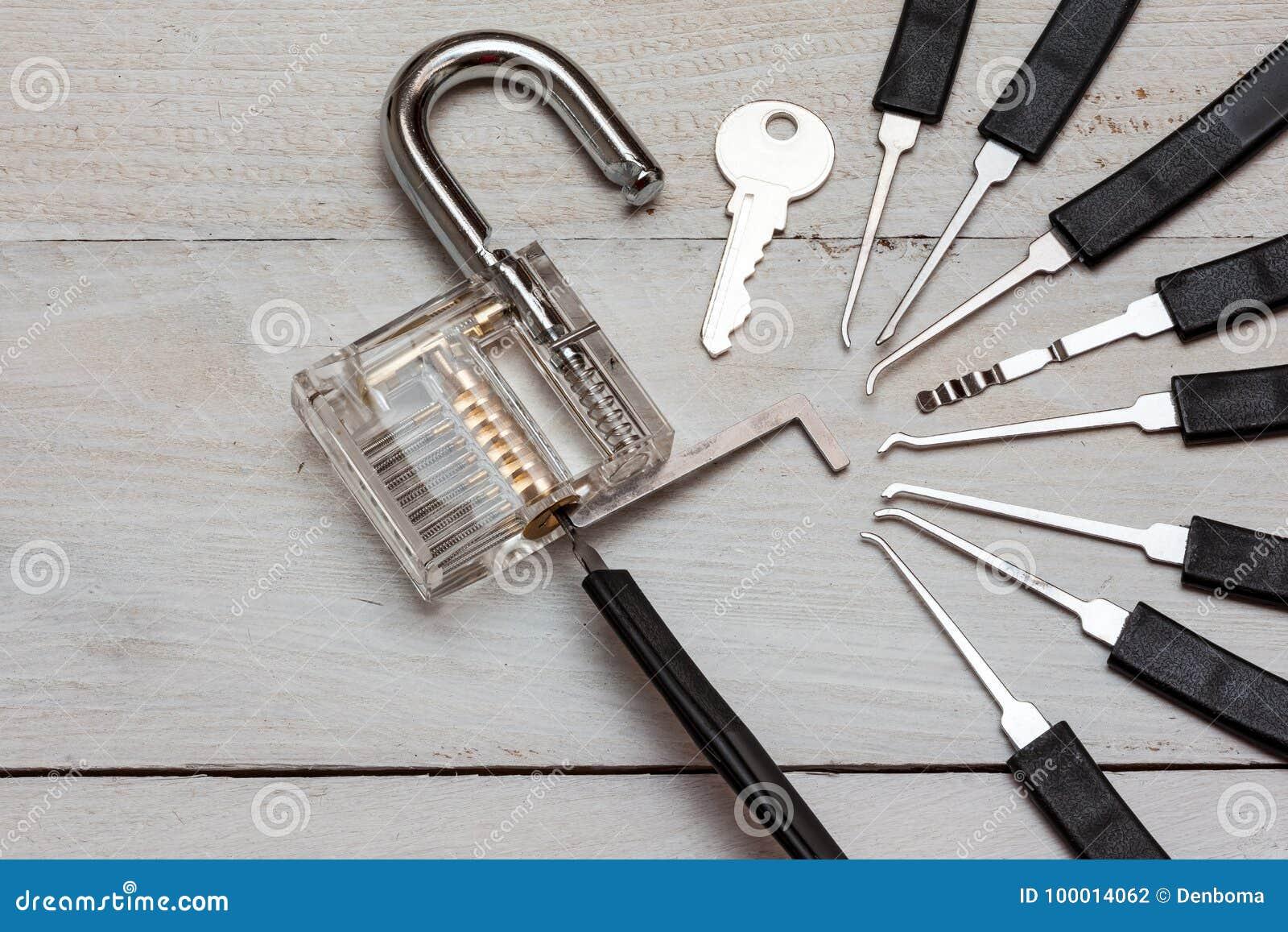 An lock pick stock photo  Image of tool, lockpick, unlock