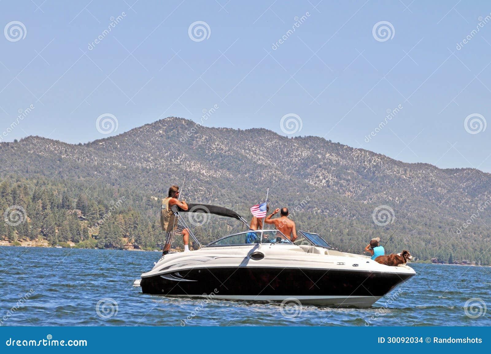 Fishing expedition editorial stock image image 30092034 for Big bear lake fishing report