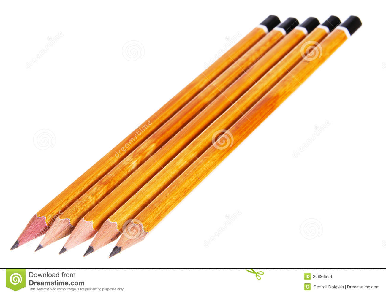 Several Pencils Stock Images Image 20686594